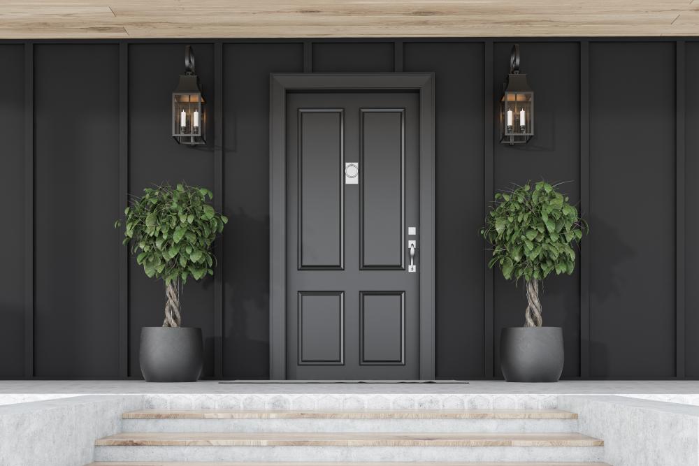 Des décorations d'entrées et de vestibules